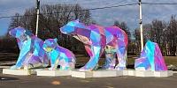 Полигональные медведи
