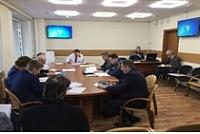 Заседание комиссии по ЧС